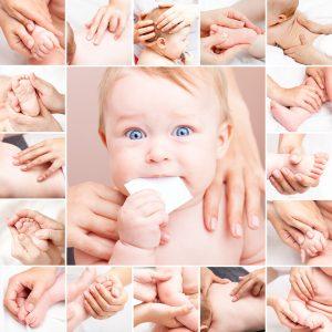 Chiama l'osteopata per controlare tuo figlio nei primi 5 mesi
